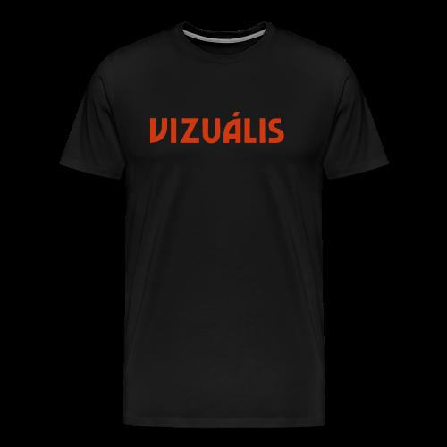 Vizuális - Men's Premium T-Shirt