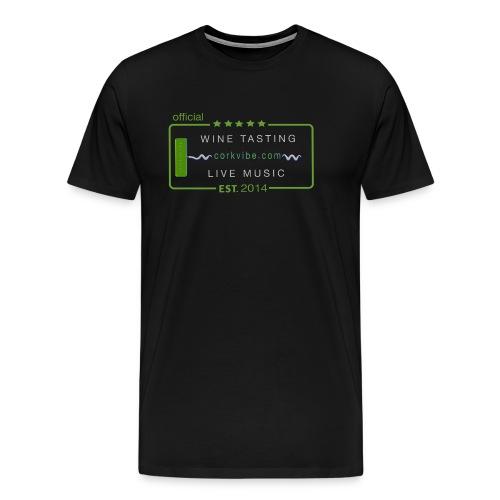 corkvibe t shirt - Men's Premium T-Shirt
