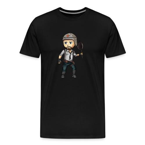 PUBG Chibi - Men's Premium T-Shirt
