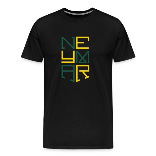 Neymar T Shirt Design - Men's Premium T-Shirt