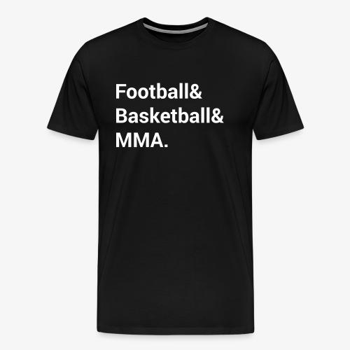 The Big 3 Alternate Colorway - Men's Premium T-Shirt