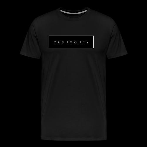 Ca$hMoney box logo v2 - Men's Premium T-Shirt