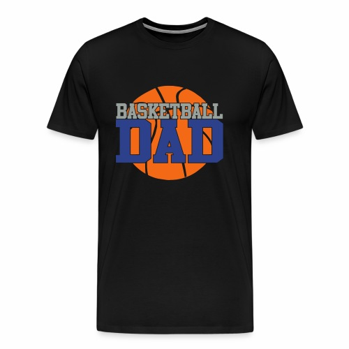 Basketball dad - Men's Premium T-Shirt