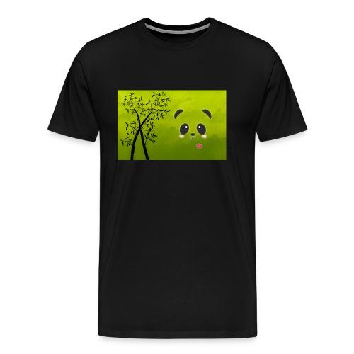 panda cuteness - Men's Premium T-Shirt