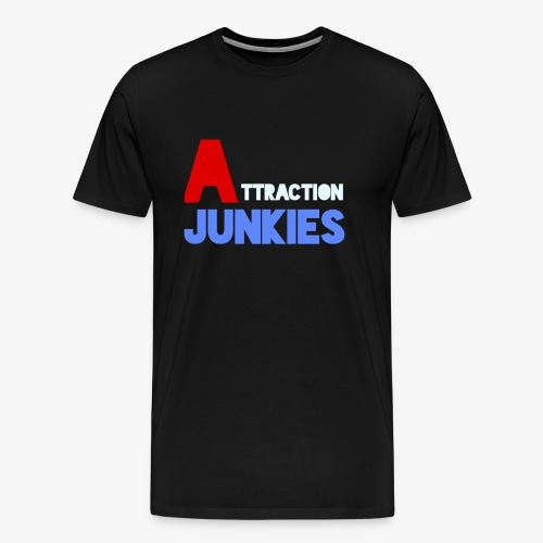 Attraction Junkies Merch - Men's Premium T-Shirt