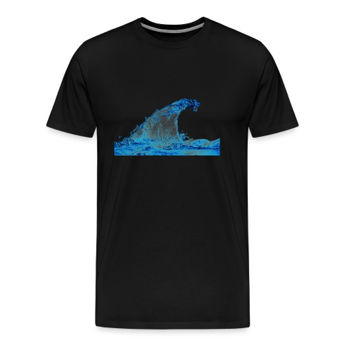 water_PNG3290 - Men's Premium T-Shirt