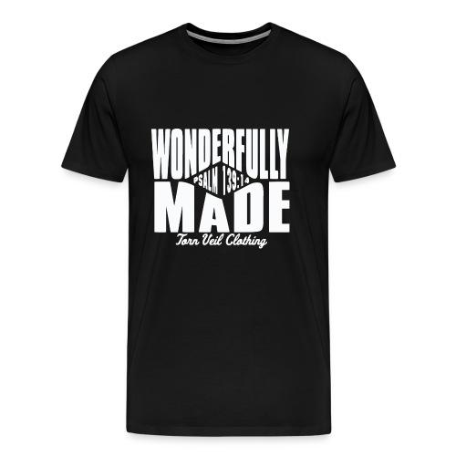 wonderfully made white - Men's Premium T-Shirt
