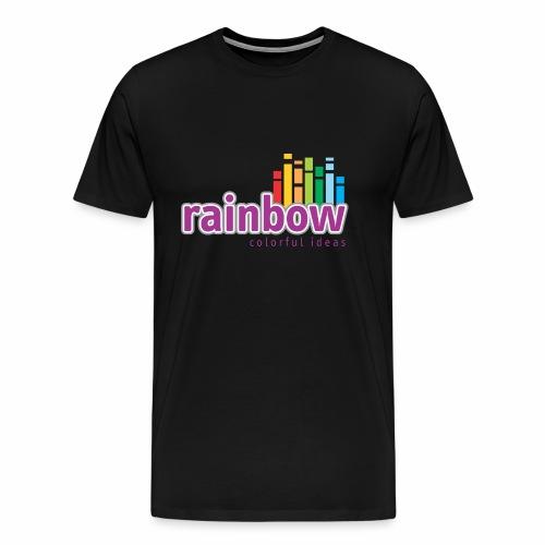 Rainbow Colorful Ideas - Men's Premium T-Shirt