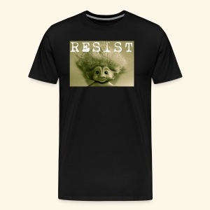 Warm Vintage RESIST the Troll - Men's Premium T-Shirt