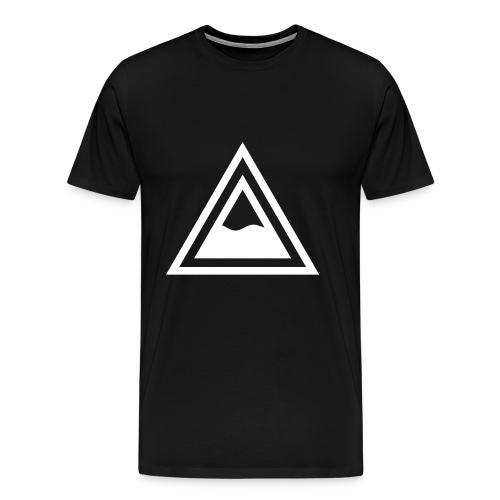 Gas Half Full Logo - Men's Premium T-Shirt