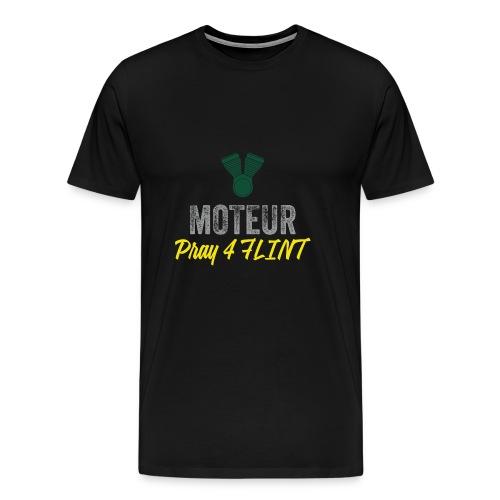 Pray 4 FLINT - Men's Premium T-Shirt