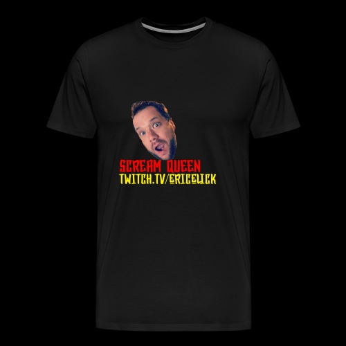 scream queen shirt - Men's Premium T-Shirt