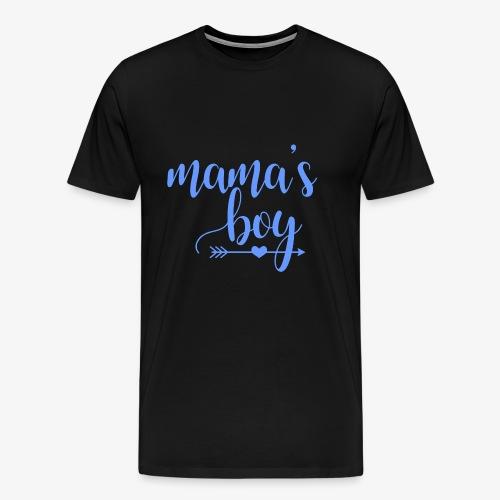 mama's boy - Men's Premium T-Shirt