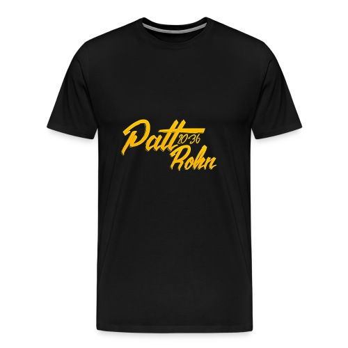 Patt Rohn 2036 Golden - Men's Premium T-Shirt