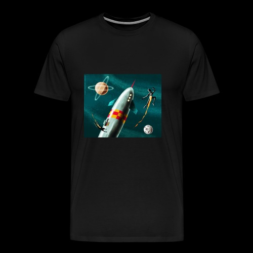 Rockets and Jetpacks - Men's Premium T-Shirt