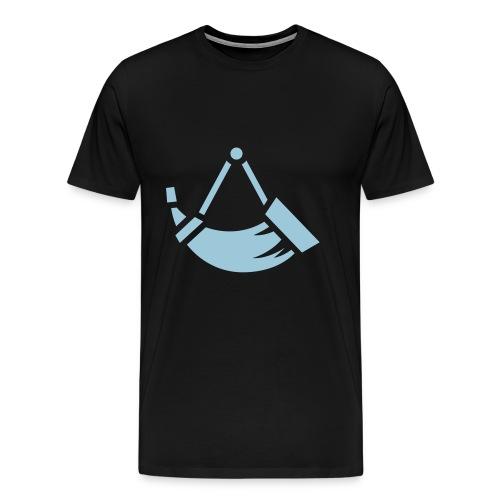 hunting horn - Men's Premium T-Shirt
