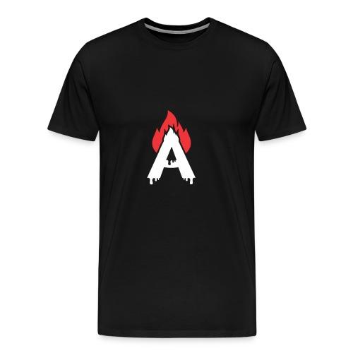 fire logo - Men's Premium T-Shirt