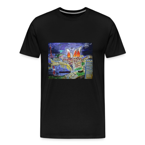 Baku, Azerbaijan - Men's Premium T-Shirt