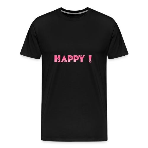 HAPPY <3 <3 <3 - Men's Premium T-Shirt