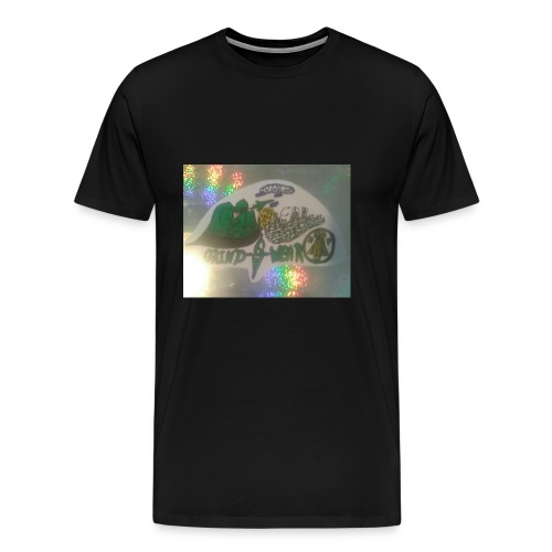 HOLOGRAM GRINDWEAR LOGO(BY MR.239) - Men's Premium T-Shirt