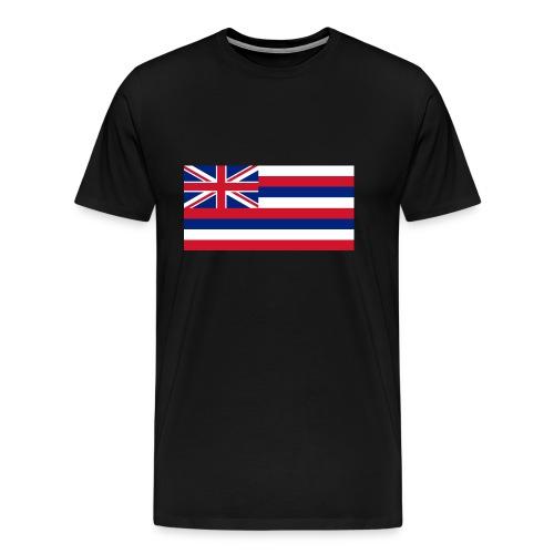Hawaiian Flag - Men's Premium T-Shirt