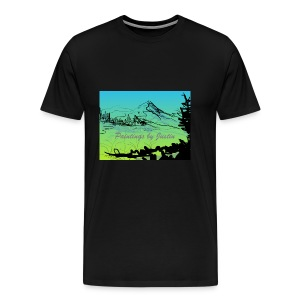 Paintings by Justin color - Men's Premium T-Shirt