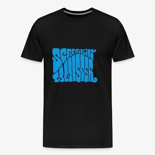 Screamin' Whisper Retro Logo - Men's Premium T-Shirt