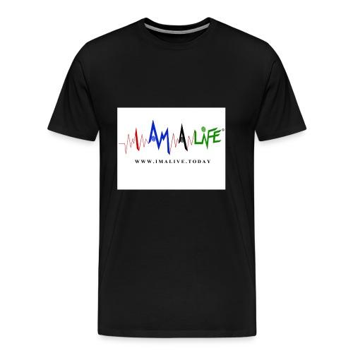I'm ALive... I Am a Life - Men's Premium T-Shirt