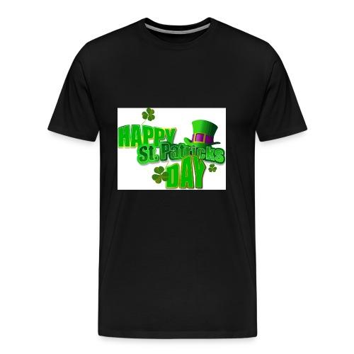 saint patrick day merch - Men's Premium T-Shirt