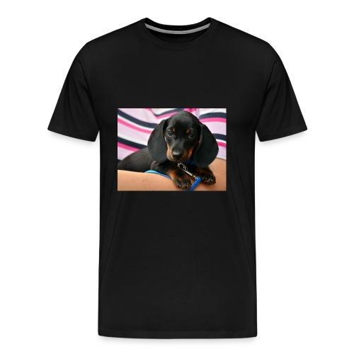 dachshund - Men's Premium T-Shirt