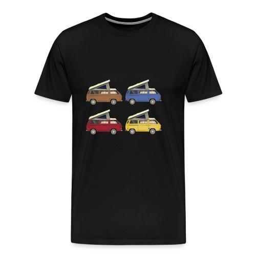 Van vanlife - Men's Premium T-Shirt