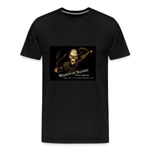 Mayhem Skeleton - Men's Premium T-Shirt