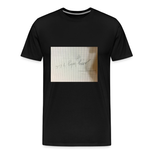 This is important for my fans in musically - Men's Premium T-Shirt