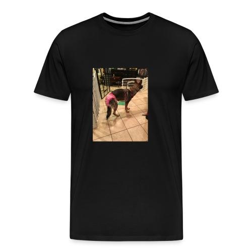 violet in underwear - Men's Premium T-Shirt