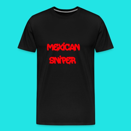 Mexican Sniper Graffiti - Men's Premium T-Shirt