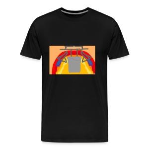 Awesome sunset - Men's Premium T-Shirt