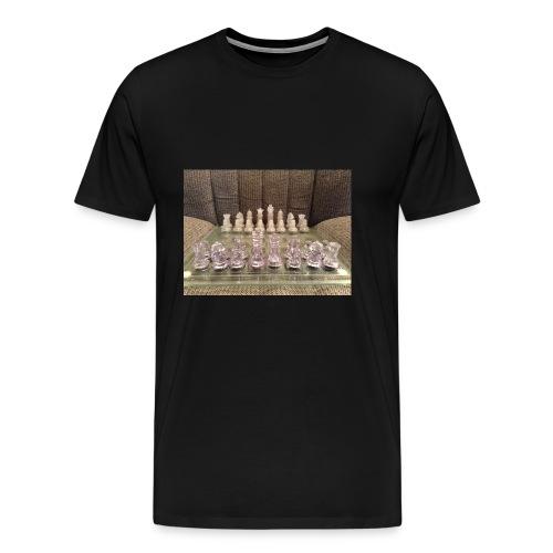 Chess bord - Men's Premium T-Shirt