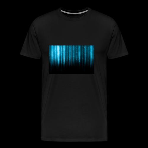 Blue Wallpaper Colorful - Men's Premium T-Shirt