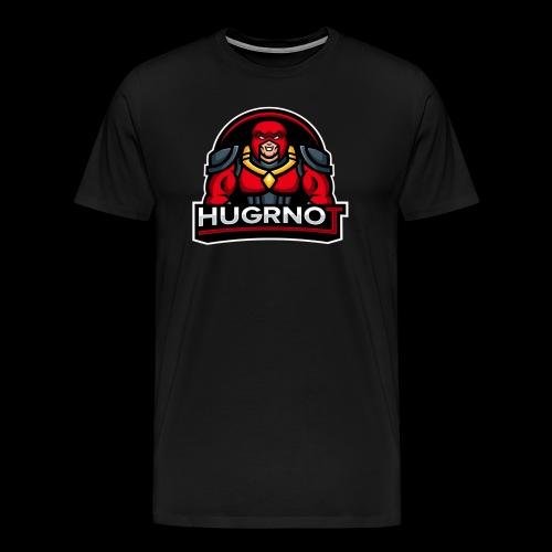 Hugrnot Logo - Men's Premium T-Shirt