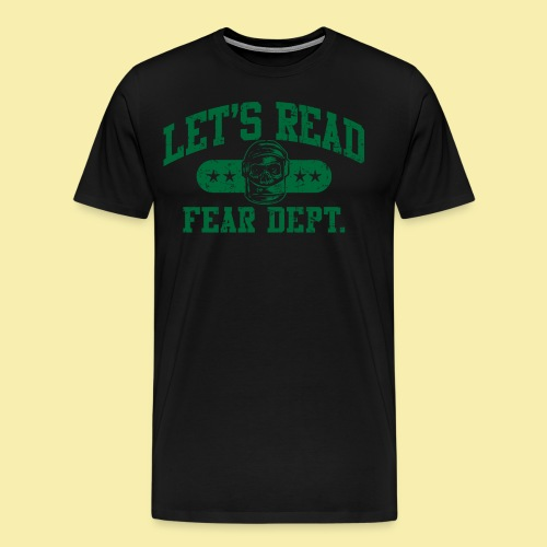 Athletic Green - Inverted for Dark Shirts - Men's Premium T-Shirt
