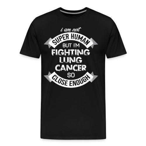 Lung Cancer Awareness - Men's Premium T-Shirt