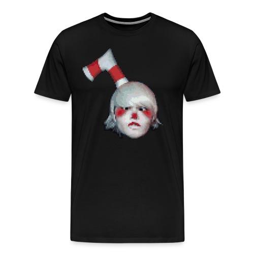 pixel cuphead masons cosplay - Men's Premium T-Shirt