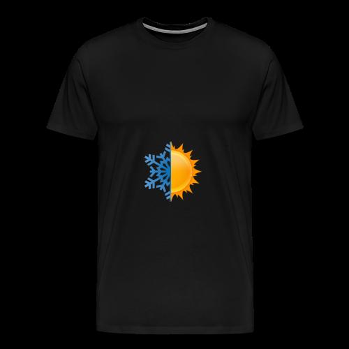 Half-n-Half - Men's Premium T-Shirt