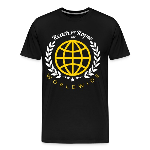 Reach for the Ropes World Wide - Men's Premium T-Shirt