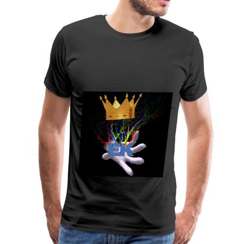 Electro King symbol - Men's Premium T-Shirt