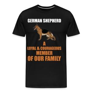 The German Shepherd - Men's Premium T-Shirt