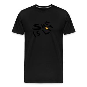sh*t is lit - Men's Premium T-Shirt