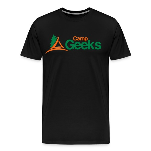 CampGeeks Logo - Men's Premium T-Shirt