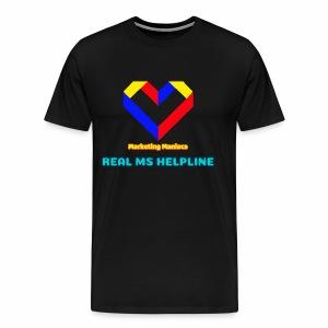 Ms Logo - Men's Premium T-Shirt