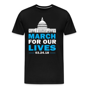 March For Our Lives T-shirt 2018 on March 24 - Men's Premium T-Shirt